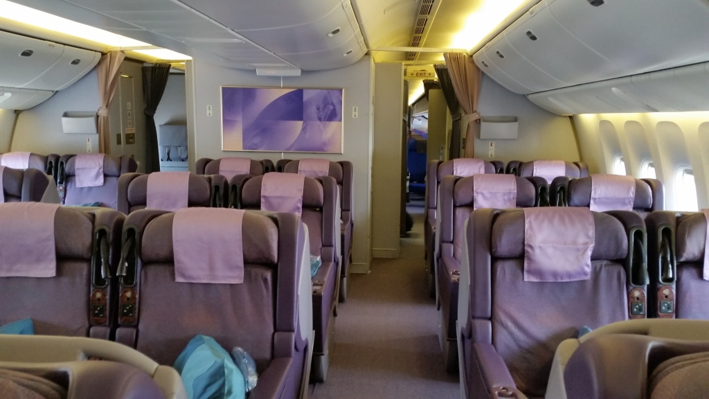 singapore airlines business class cabin 777-200