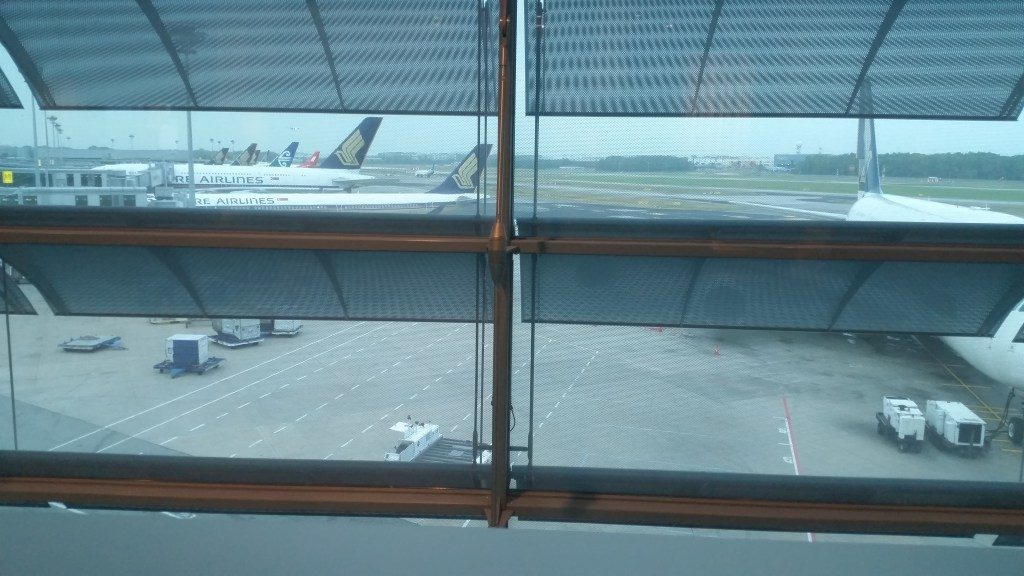 singapore airlines private room view