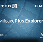 united mileageplus explorer credit card review