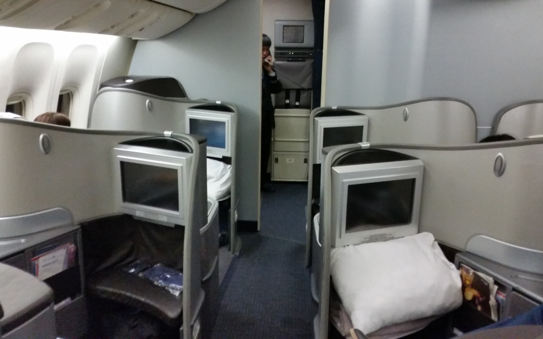 Review: United Global First (Boeing 777-200) from Tokyo to Singapore