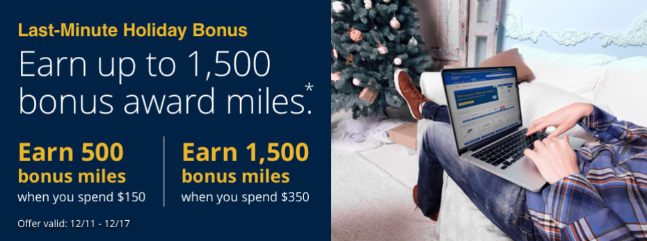 Up to 4,000 Bonus Miles for Online Shopping: 4 Airlines Giving Extra Bonus Miles for Last Minute Shopping