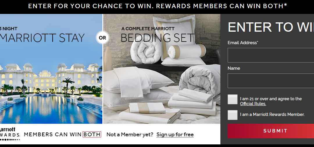 Win 3 Free Nights at a Marriott Hotel!