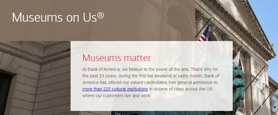 Bank of America Free Museum Days 2021