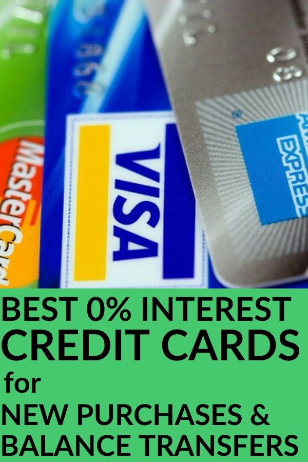 Best Zero Percent Interest Credit Cards for New Purchases and Balance Transfers